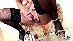 Unbeatable whore presents her most sophisticated intimate show