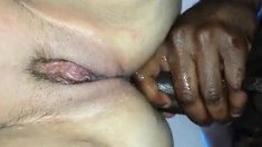 Slutty Amateur In First Interracial Anal