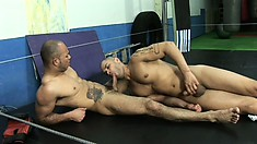Two hot boys with great worked out bodies bring their gay fantasies to life