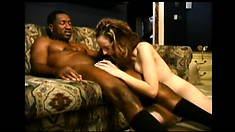 Kelly Wells gets wrecked by a massive black schlong and loves it