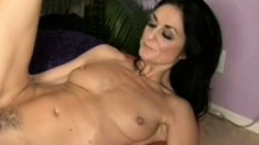 Lonely Milf gets a black friend over to service her hungry fuck holes