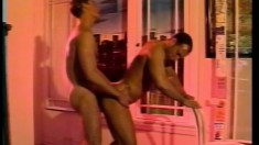 Randy dudes enjoy some steamy anal loving in passionate scene