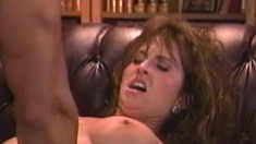 Striking wife with big boobs Ashlyn Gere getting nailed by Peter North
