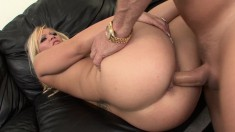 Austin delivers a fabulous blowjob and then relishes a deep pounding