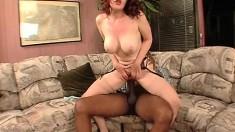 Hot MILF with big boobs hardcore