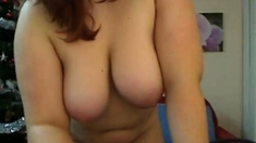 Young chubby Romanian girl gets naked on cam