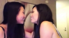 Amateur Asian Girls Hot Kiss