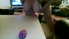 Bbw with huge boobs on webcam
