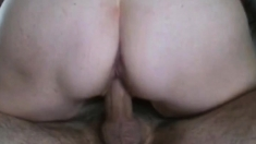Homemade - Hot Closeup Riding With Creampie