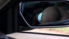Ebony Public Blowjob In Car At Daylight
