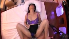 Asian amateur flashes her panties in public