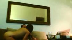 Amateur babe on real hidden cam