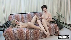 Lesbian Janessa gets her pussy licker when she wants it and does the same