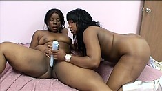 Tifffany Stacks and Bbw Marshae engage in sensual and intense action