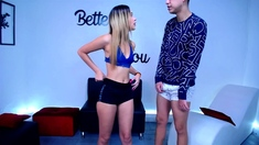 Small Tittied Teen Prostitute Blonde