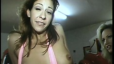 Passionate adult movie actress gets turned on immediately by that prick