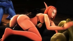 Animation Hot Girlfriends Compilation of 2020!