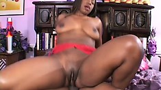 Desiree Clark is a fuck lucky babe and gives him a warm hole to express himself